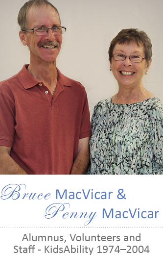 Portrait of Bruce MacVicar and Penny MacVicar
