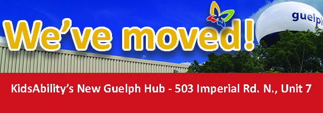 We've moved! KidsAbility's New Guelph Hub - 503 Imperial Road North