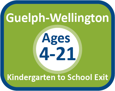 Guelph-Wellington Ages 4-21 referral form